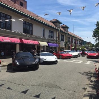 cars parked along Church St