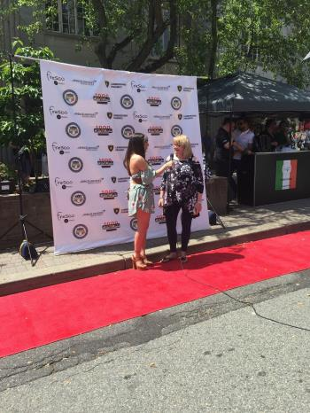 Executive Director Lynn Hoffman on the Red Carpet